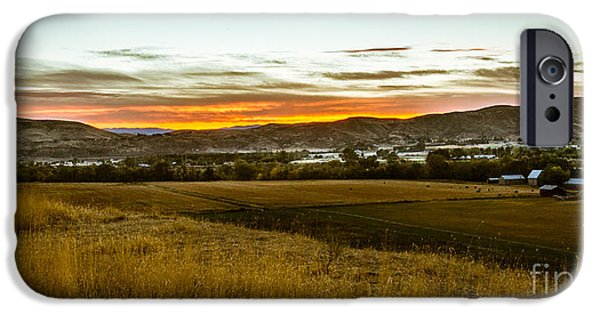 Emmett iPhone Cases - East End Of Emmett Valley iPhone Case by Robert Bales