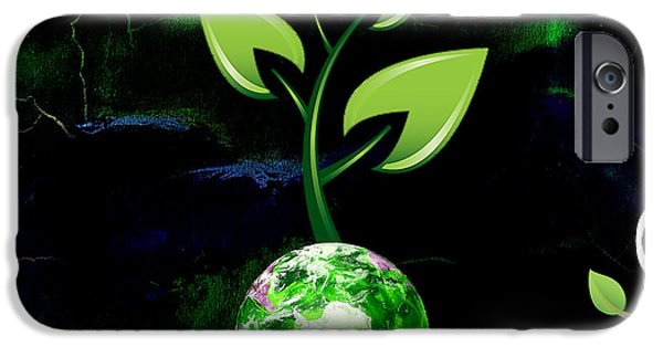 Electric iPhone Cases - Eco Living iPhone Case by Marvin Blaine