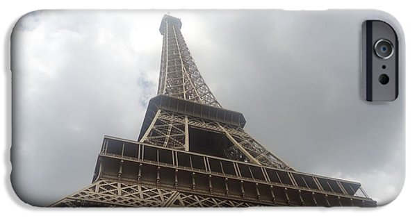 Michelin iPhone Cases - Eiffel Tower  iPhone Case by Tashia  Summers