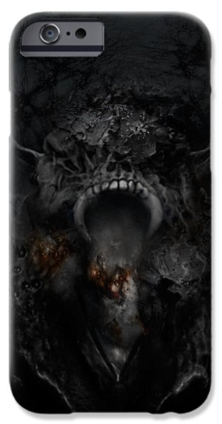 Empire of Ashes iPhone Case by David Fox