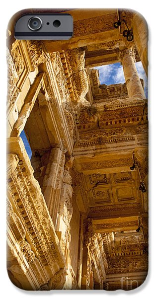 Ephesus iPhone Cases - Ephesus iPhone Case by Brian Jannsen