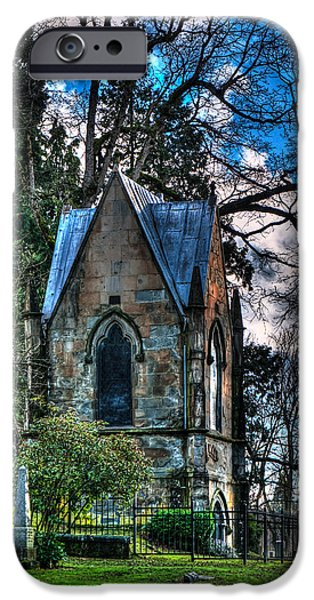 Final Resting Place iPhone Cases - Eternal Home iPhone Case by Wolfgang Hauerken