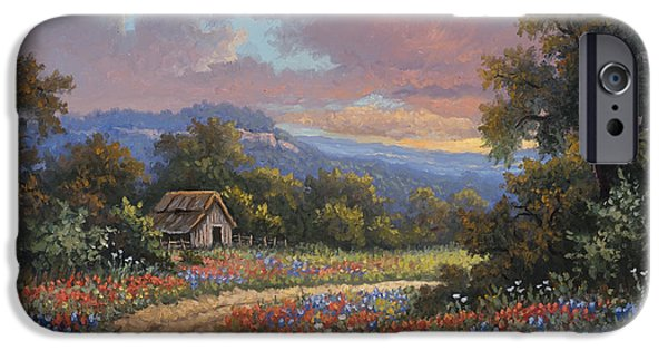 Old Barns iPhone Cases - Evening Medley iPhone Case by Kyle Wood