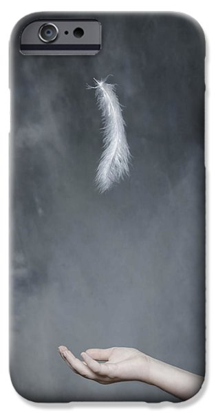 Conceptual iPhone Cases - Feather iPhone Case by Joana Kruse