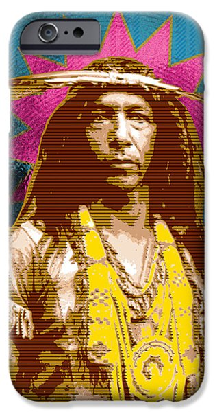 Indian iPhone Cases - Feather Maker iPhone Case by Gary Grayson