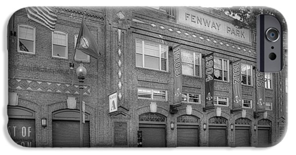 Fenway Park iPhone Cases - Fenway Park - Best Of Boston iPhone Case by Susan Candelario
