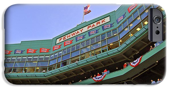 Recently Sold -  - Fenway Park iPhone Cases - Fenways 100th iPhone Case by Joann Vitali