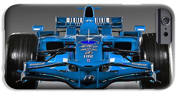 Horse iPhone Cases - Ferrari Formula 1 iPhone Case by Marvin Blaine