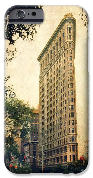 Buildings iPhone Cases - Flatiron District iPhone Case by Jessica Jenney