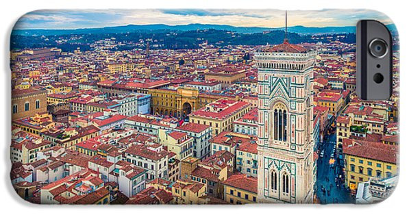 Italy iPhone Cases - Florence iPhone Case by Cory Dewald