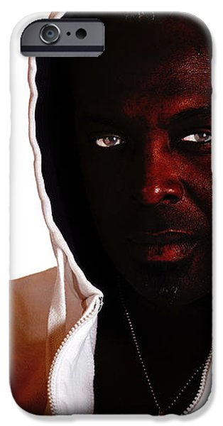 Frustration iPhone Case by Gunter Nezhoda