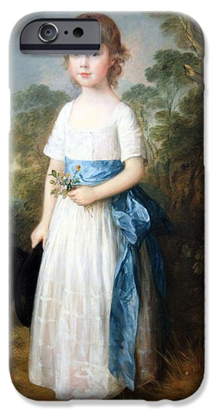 Cora Wandel iPhone Cases - Gainsboroughs Master John Heathcote iPhone Case by Cora Wandel