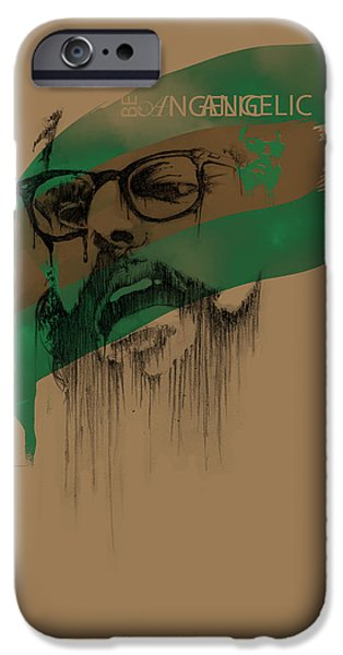 Enhanced iPhone Cases - Ginsberg iPhone Case by Pop Culture Prophet