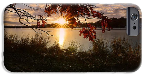 New England Ocean iPhone Cases - Goddard Marina iPhone Case by Lourry Legarde