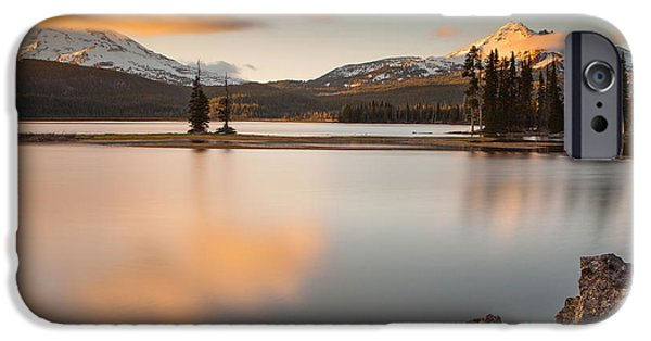 Michelle iPhone Cases - Golden Hour  iPhone Case by Michelle Bauer