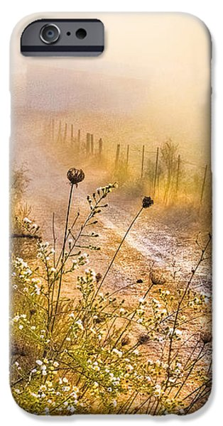 Good Morning Farm iPhone Case by Debra and Dave Vanderlaan