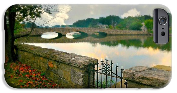 Connecticut Landscapes iPhone Cases - Gorhams Pond iPhone Case by Diana Angstadt