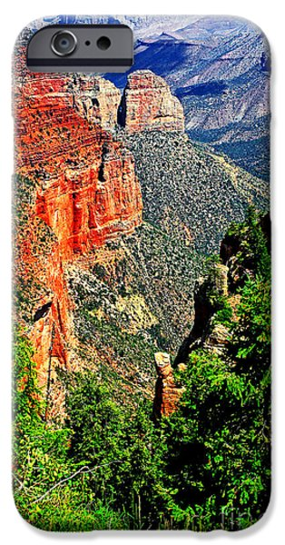 Grand Canyon iPhone Cases - Grand Canyon iPhone Case by John Langdon