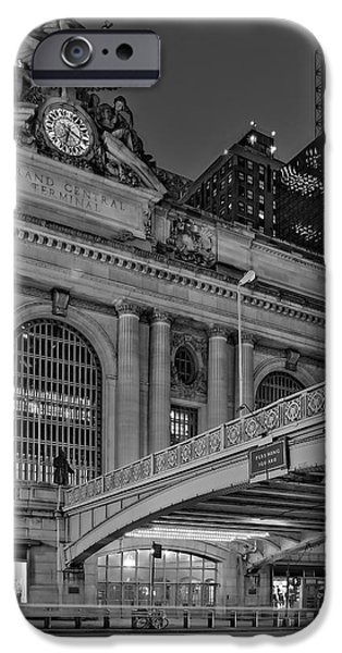 New York iPhone Cases - Grand Central Terminal GCT NYC iPhone Case by Susan Candelario