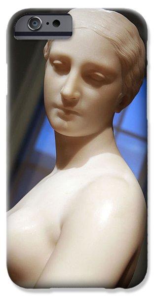 Cora Wandel iPhone Cases - Greek Slave Up Close -- 1 iPhone Case by Cora Wandel