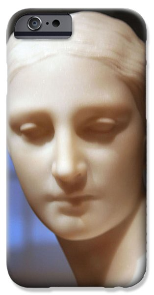 Cora Wandel iPhone Cases - Greek Slave Up Close -- 2 iPhone Case by Cora Wandel