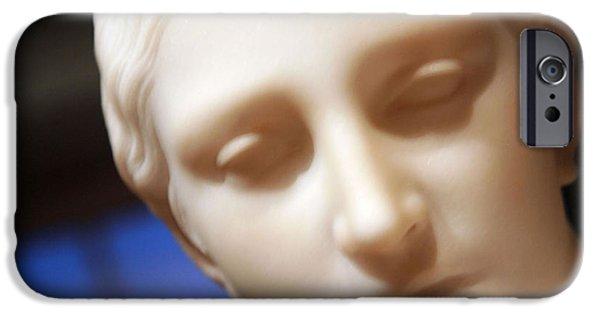 Cora Wandel iPhone Cases - Greek Slave Up Close -- 3 iPhone Case by Cora Wandel