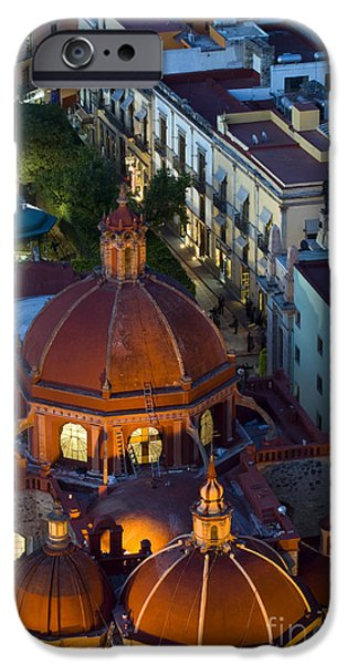 Town iPhone Cases - Guanajuato, Mexico iPhone Case by John Shaw