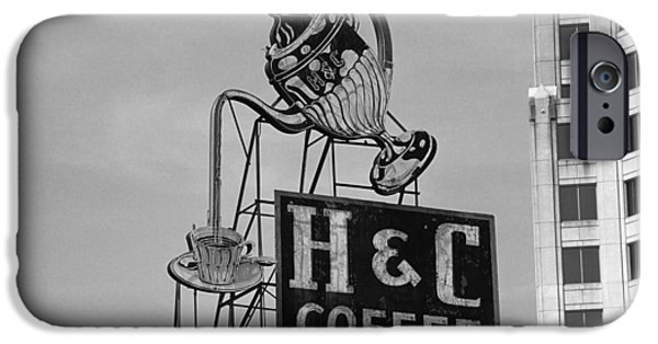 Recently Sold -  - Small iPhone Cases - H C Coffee iPhone Case by Frank Romeo