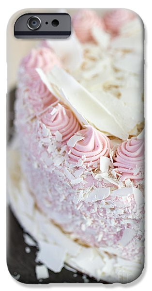 Dessert iPhone Cases - Happy Birthday iPhone Case by Edward Fielding