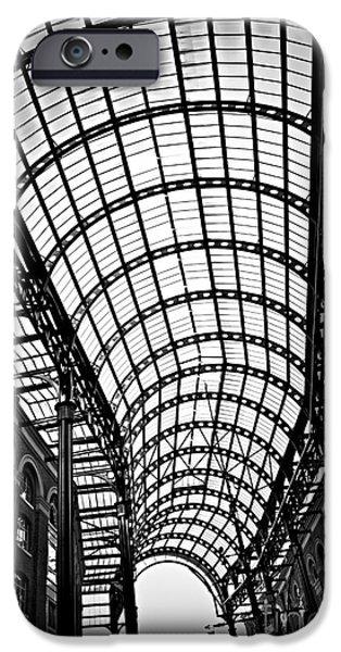 Hay's Galleria roof iPhone Case by Elena Elisseeva