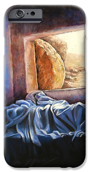 He Is Risen iPhone Case by Susan Jenkins