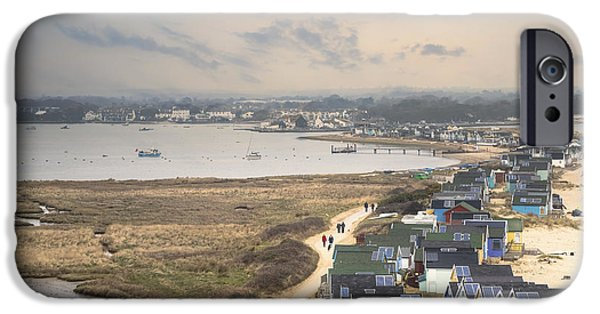 Hut iPhone Cases - Hengistbury Head - England iPhone Case by Joana Kruse