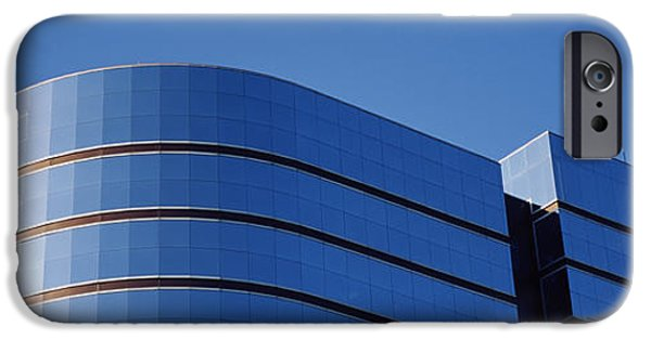 Architectural Feature iPhone Cases - High Section View Of A Building iPhone Case by Panoramic Images
