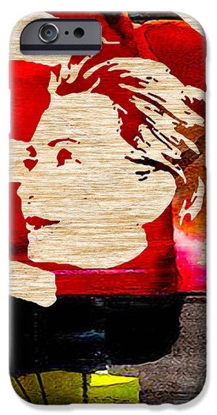 Hillary Clinton iPhone Case by Marvin Blaine