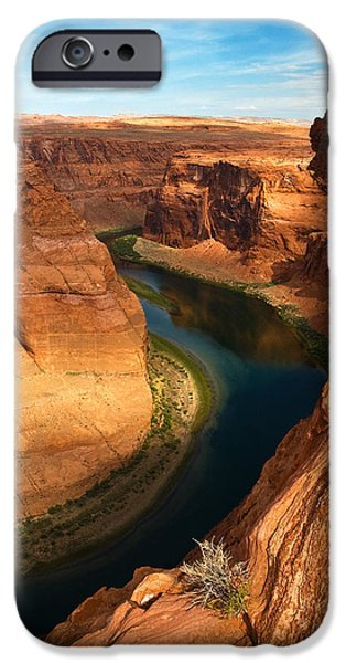 Glen Canyon iPhone Cases - Horseshoe Bend  iPhone Case by James Marvin Phelps