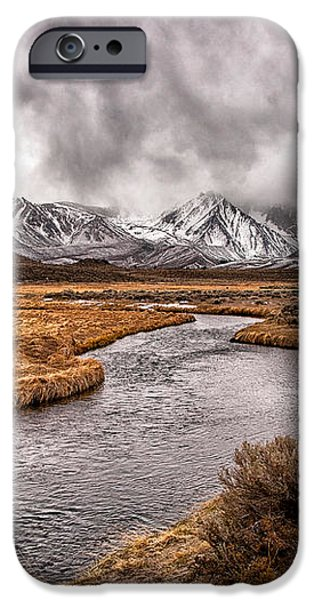 Hot Creek iPhone Case by Cat Connor