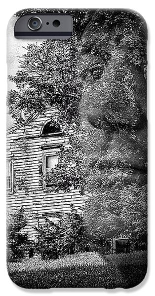 House On Haunted Hill iPhone Case by Madeline Ellis