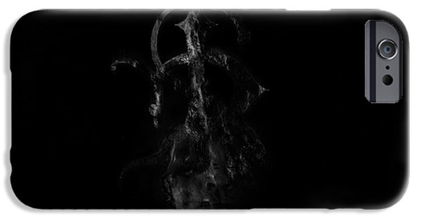 Puppy Digital Art iPhone Cases - Insolvent See iPhone Case by David Fox