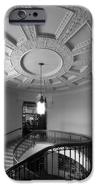 Land-grant iPhone Cases - Iowa State University Memorial Union Stairwell iPhone Case by University Icons