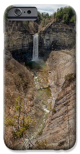 Empire State iPhone Cases - Ithaca Waterfall Series iPhone Case by Josh Whalen