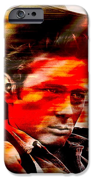 James iPhone Cases - James Dean iPhone Case by Marvin Blaine