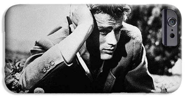 1950s Movies iPhone Cases - James Dean iPhone Case by Nomad Art And  Design