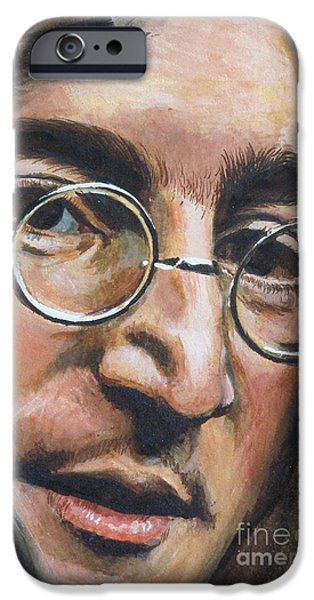 Mr Kite iPhone Cases - John Lennon iPhone Case by Kean Butterfield