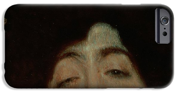 Secession iPhone Cases - Judith iPhone Case by Gustav Klimt