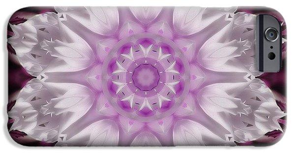 Floral Photographs iPhone Cases - Kaleidoscope iPhone Case by Joyce Baldassarre