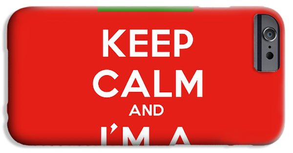 Patriotism Paintings iPhone Cases - Keep Calm And I m A Peshmerga iPhone Case by Celestial Images