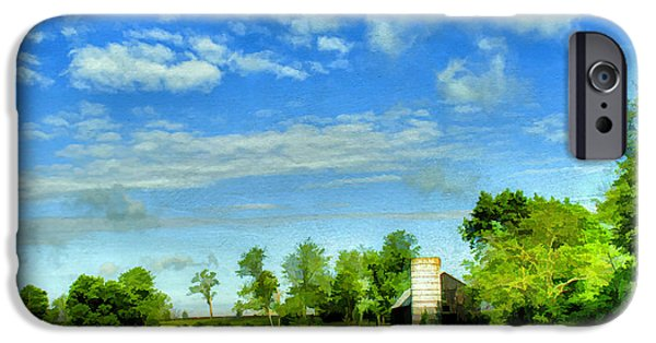 Old Barn Photo Photographs iPhone Cases - Kentucky Countryside iPhone Case by Darren Fisher