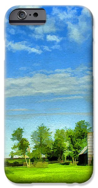 Kentucky Countryside iPhone Case by Darren Fisher