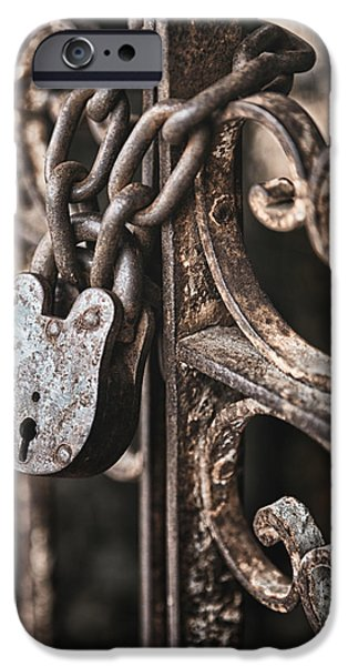 Filigree iPhone Cases - Keyless iPhone Case by Caitlyn  Grasso