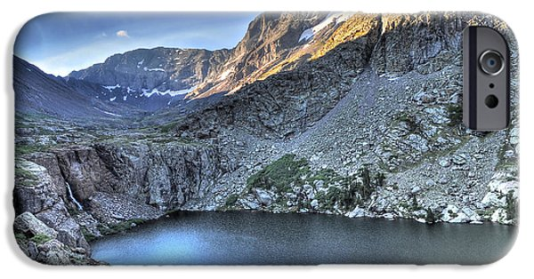Willow Lake iPhone Cases - Kit Carson Peak and Willow Lake iPhone Case by Aaron Spong